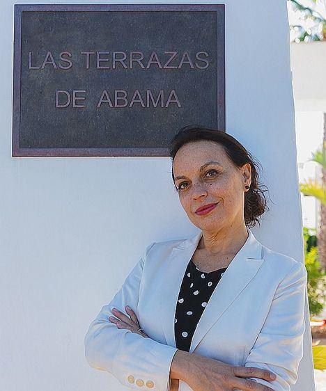 Ángela García Carrasco, directora general de Las Terrazas de Abama.