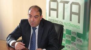 Lorenzo Amor, presidente de la Federación Nacional de Asociaciones de Trabajadores Autónomos, ATA.