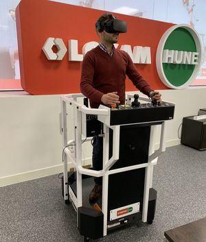 La realidad virtual llega a la formación de operarios de maquinaria de la mano de LoxamHune y SeriousLabs