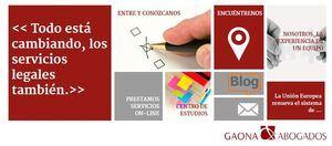 Gaona y Rozados Abogados busca incorporar nuevos abogados y abogadas con perfil junior al despacho