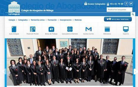 El Colegio de Abogados de Málaga crea un fondo de 600.000 euros para ayudar a los letrados por la crisis del coronavirus