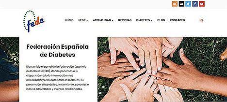 FEDE crea un espacio online informativo sobre diabetes y COVID-19