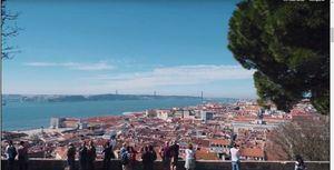 Lisboa vista desde el Castillo de San Jorge.
