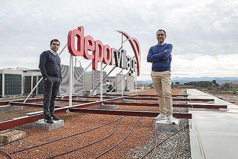 Angel Corcuera y Xavier Pladellorens Fundadores de Deporvillage.