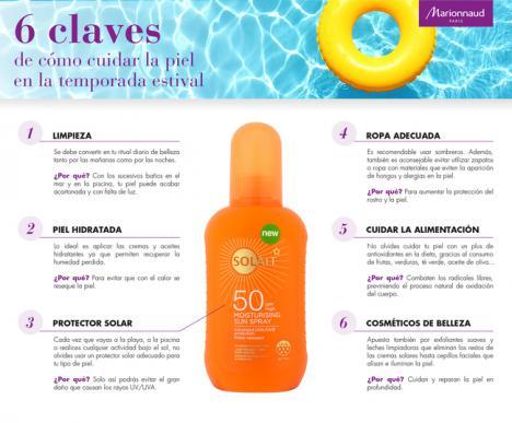 Marionnaud te da 6 claves de cómo cuidar tu piel en la temporada estival