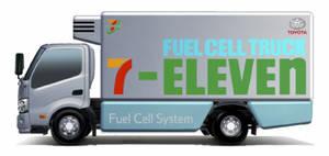 7-Eleven y Toyota acuerdan un proyecto de camiones de pila de combustible de hidrógeno