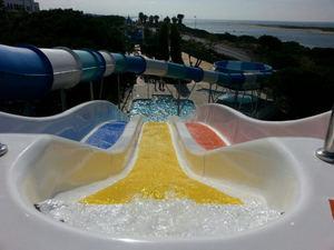 Playa cartaya Aquapark, Huelva.
