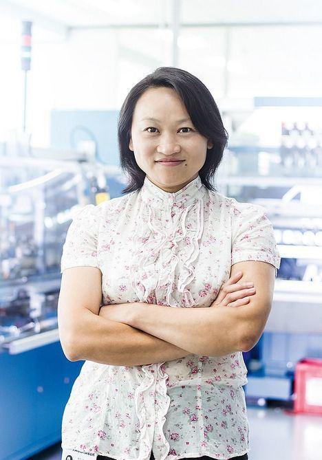 Dra. Aihua Hong.