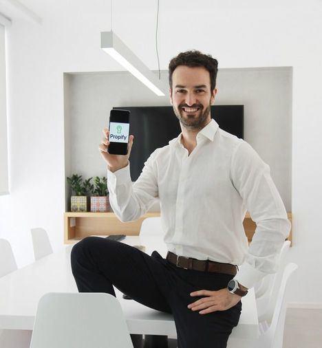 Óscar Bedoya, Director Ejecutivo y Cofundador de Propify.