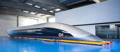 Hitachi Rail invierte en tecnologías de transporte Hyperloop