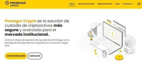 El programa de innovación abierta de Prosegur busca soluciones tecnológicas para el mercado de criptoactivos
