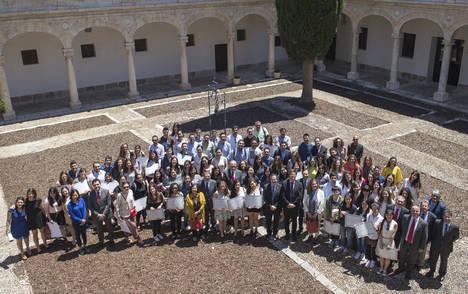 Nueva edición de las Becas Cervantes de la Universidad de Alcalá y Banco Santander, con 161 beneficiarios