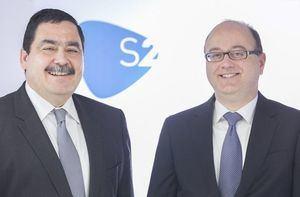 José Rosell y Miguel A. Juan, socios-directores de S2 Grupo.
