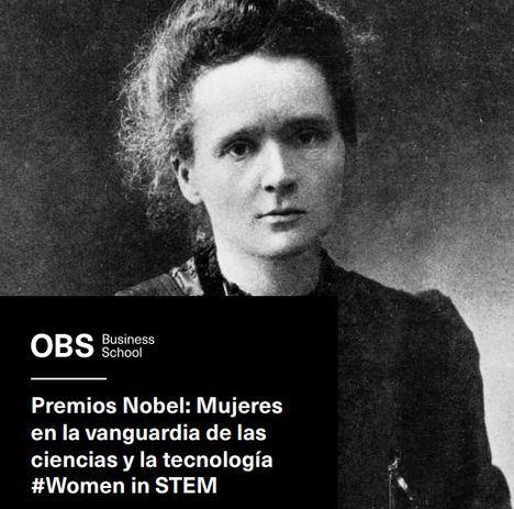 Solo un 6,2% de Premios Nobel a lo largo de su historia se han otorgado a mujeres