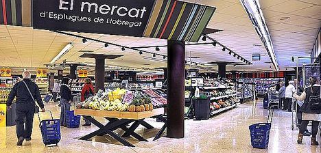Caprabo da un impulso al plan de transformación de su red de supermercados