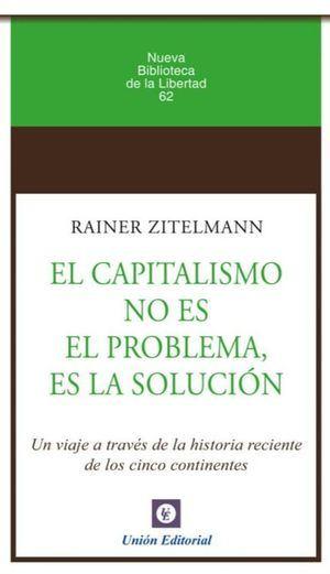 """""""Más capitalismo"""", la receta de Rainer Zitelmann para sacar a España de la crisis"""