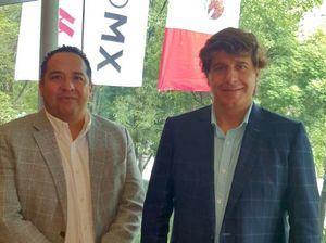 David Sainz, CEO de Latam Networks y Francisco Segura, Presidente de FIF.