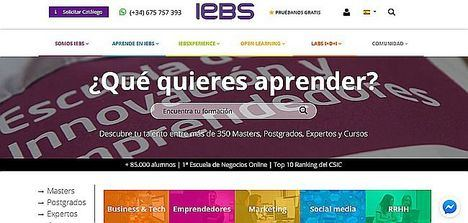 IEBS lanza el Máster en Business Intelligence para dar respuesta al crecimiento del sector