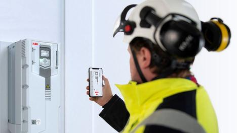 ABB Ability™ Mobile Connect para variadores de frecuencia, una solución de soporte remoto que satisface los retos digitales de la industria
