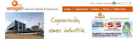 """ACOGEN valora muy positivamente que la Ministra Ribera llame a """"revisar y actualizar"""" la cogeneración"""