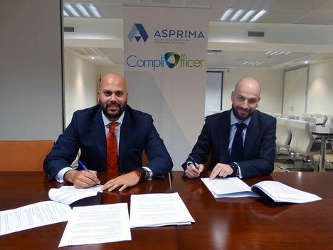 Compliofficer se convierte en asesor de Asprima en materia de prevención de blanqueo de capitales y financiación del terrorismo