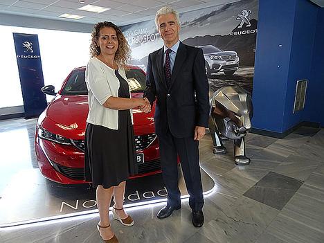 ADIME y Peugeot firman un convenio de colaboración