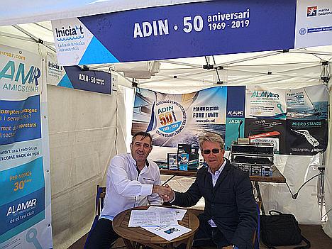ADIN y El Seguro de mi Barco firman un convenio para promover la mejora en la contratación de pólizas de seguros en el sector náutico