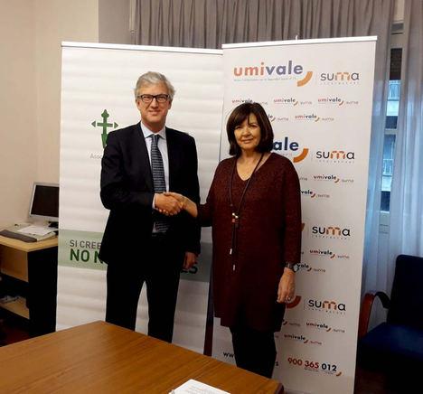 umivale y la AECC firman un convenio de colaboración en la lucha contra el cáncer