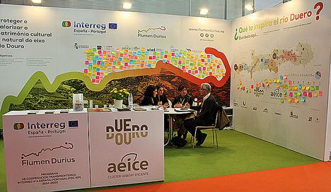 AEICE lleva a Intur el proyecto 'Flumen Durius' para promocionar el patrimonio natural y cultural en torno al río Duero