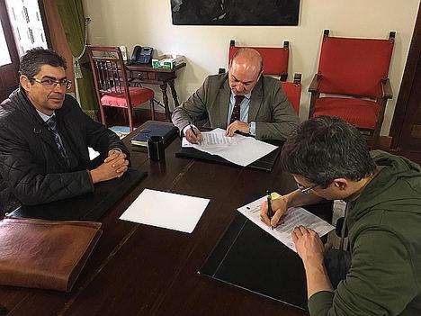AES y Ayuntamiento de Sigüenza firman un convenio de colaboración