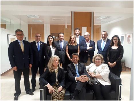 AIF asiste al desayuno de trabajo en la sede del Banco de Sabadell