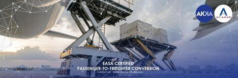 AKKA y Avianor ofrecen una solución certificada por la EASA para convertir aviones de pasajeros a cargueros
