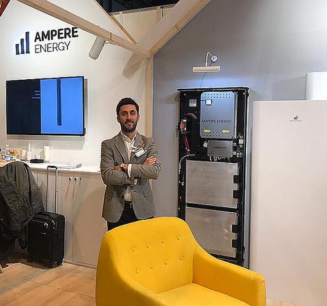 AMPERE ENERGY presenta en GENERA unas baterías capaces de autogestionarse
