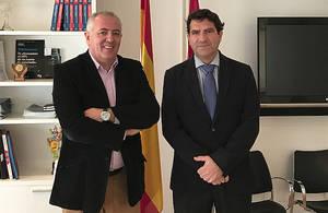 AOTEC y el Colegio de Ingenieros de Telecomunicaciones de Murcia analizan la situación del sector en la comunidad