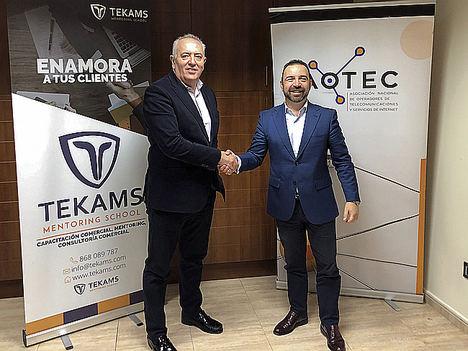 Aotec y Tekams colaborarán para reforzar la gestión comercial de las pymes de teleco