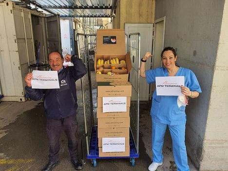 APM Terminals Barcelona colabora con el Hospital del Mar en la lucha contra el COVID19