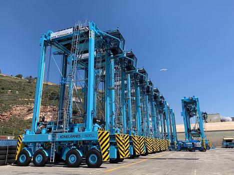 Nuevo sistema de gestión de flotas con pesaje automático de APM Terminals Barcelona