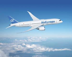 Air Europa estrena en Lima su nuevo Dreamliner