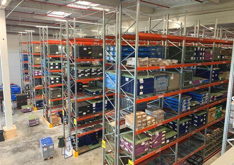AR Racking instala la solución de almacenaje del nuevo centro logístico de 41.000 m2 de Seifert