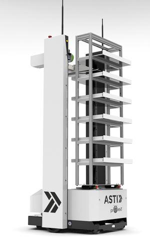 ASTI Mobile Robotics e InSystems crean un robot de asistencia para el personal sanitario en los hospitales