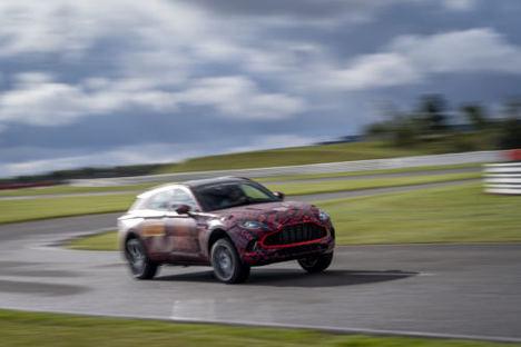 El DBX de Aston Martin, tendrá accesorios para ofrecer una vida llena de lujos
