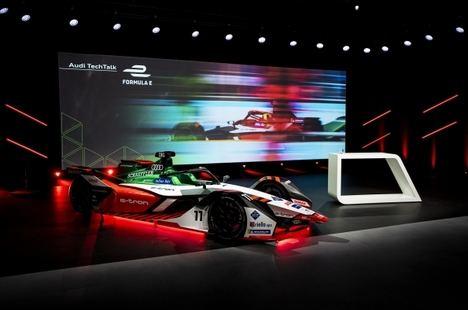 Audi presenta el E-Tron FE07