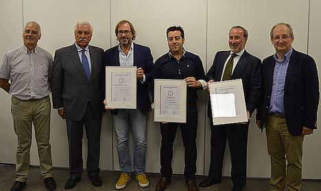 Calordom, Gebio y Erbi, las tres primeras empresas que obtienen el sello de calidad 'Instalador de Biomasa Certificado' (IBC) de Avebiom