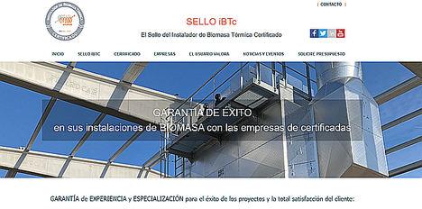 Avebiom lanza la web que gestiona el sello del Instalador Certificado iBTc