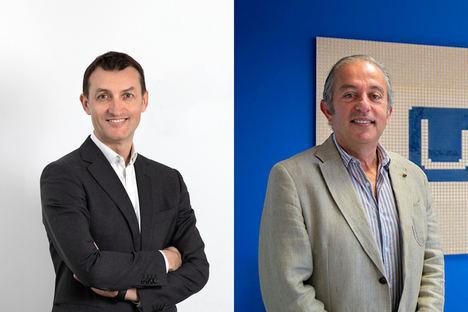 Acacio Martín, director regional de España y Portugal en Fortinet y Jorge Calderón, consejero delegado adjunto en U-tad.