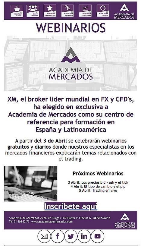 Academia de Mercados reinventa el trading formativo con webinarios diarios y eventos en toda España
