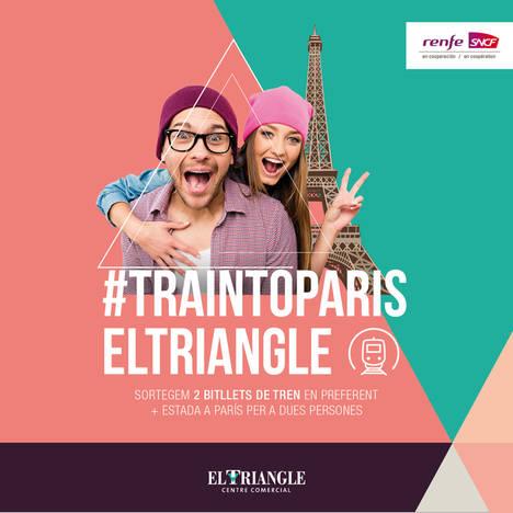 El C.C. El Triangle regala un viaje de ensueño este verano a París