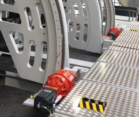 Accionamiento piñón-cremallera de alta precisión de Redex para la industria aeronáutica