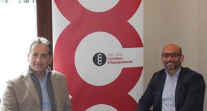 De izda. a dcha.: Jordi Murtra, Director Territorial P. Mallorquina y Guillem González, Presidente CCC.
