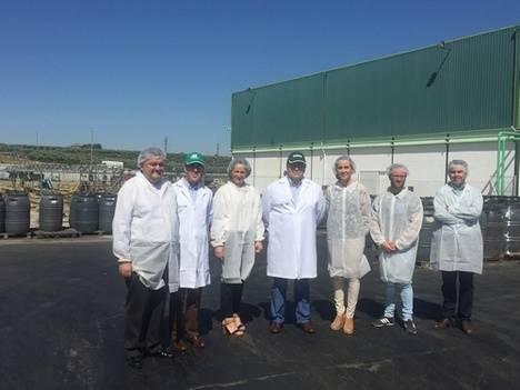 La Junta de Andalucía respalda la labor de Aceitunas de Mesa de Córdoba, Acorsa, y destaca su faceta en la internacionalización de sus productos